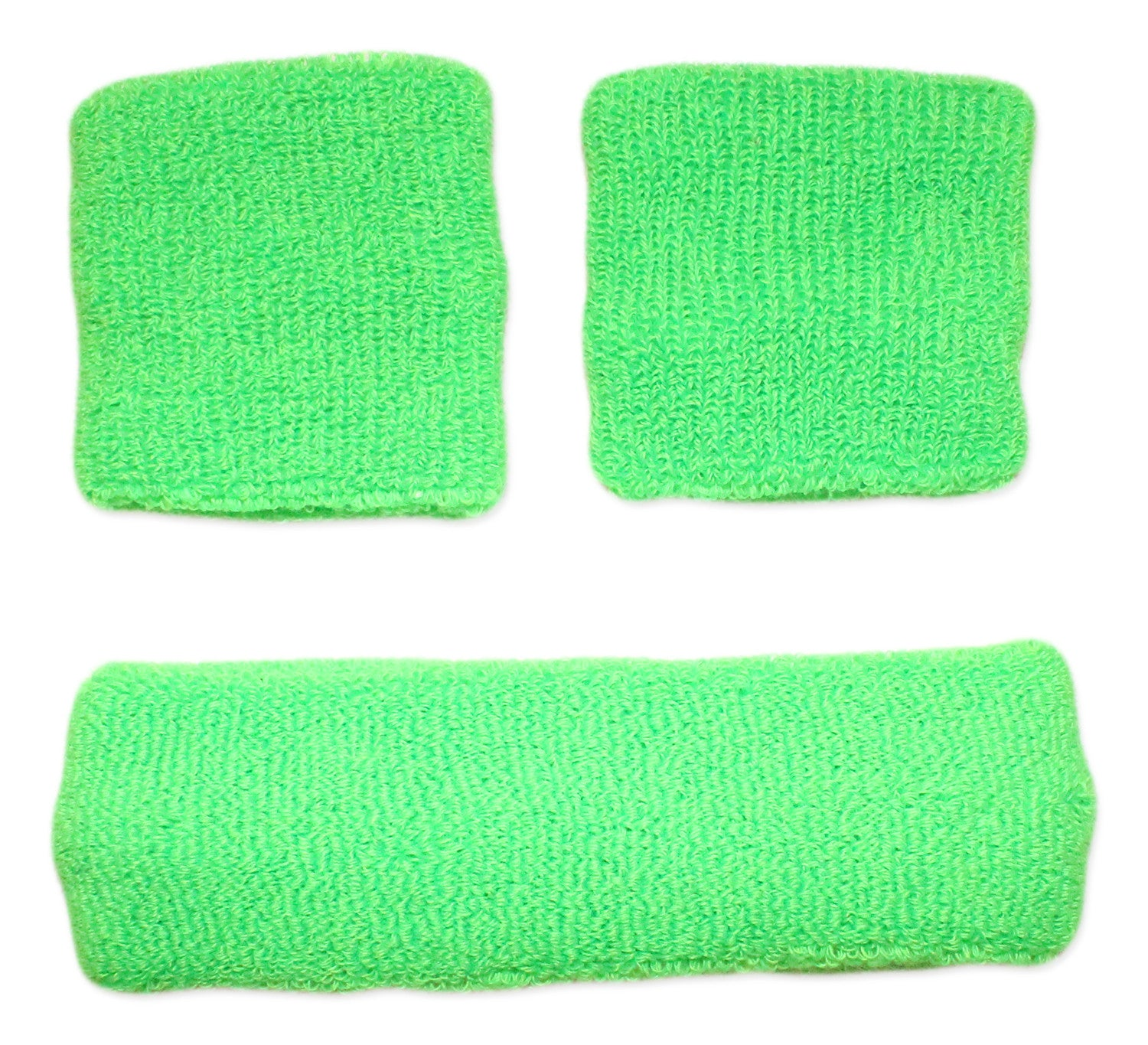 Neon Nation Sweatband Combo Set 2 Wrist & 1 Headband