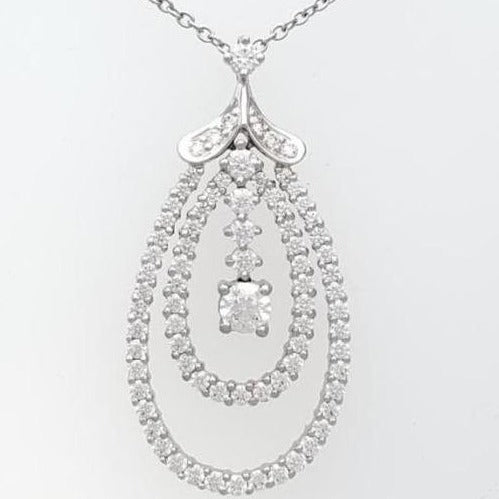 Hearts on Fire Compelling Diamond Pendant