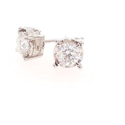 .33ctw Tru-Reflection Diamond stud earrings