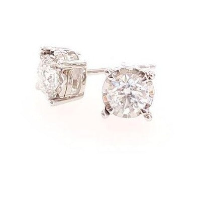 .25ctw Tru-Reflection Diamond Stud Earrings