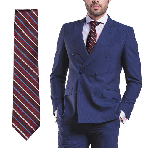 Pop Fashion Men's Silk Dress Ties - Necktie for Men, Gifts for Men, Groomsman Gifts