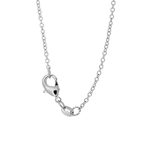 Pop Fashion Silvertone Dog Pendant Necklace with Silvertone Chain and Hanging Charm Pendant - Pop Fashion