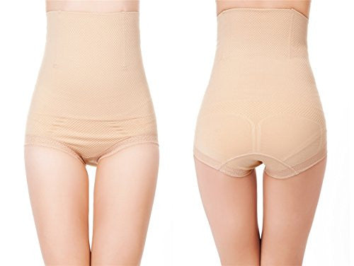 Pop Fashion Womens Shapewear Panties Bodysuit Body Shaper High Waist Tummy Control Seamless Strapless Slimming Panty Briefs