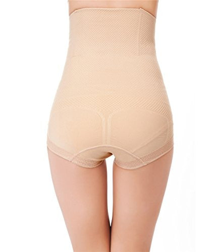 Pop Fashion Womens Shapewear Panties Bodysuit Body Shaper High Waist Tummy Control Seamless Strapless Slimming Panty Briefs - Pop Fashion