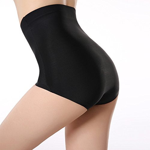 Womens High Waist Tummy Control Shapewear Underwear Briefs Seamless Sexy Pant...