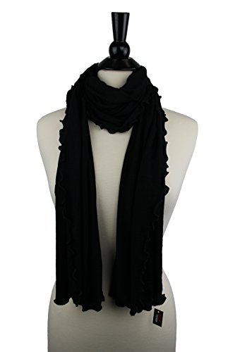 Pop Fashion Womens Solid Colored Soft Jersey Knit Wrap Fashion Scarf