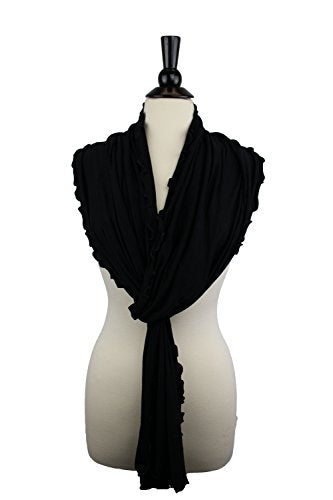 Pop Fashion Womens Solid Colored Soft Jersey Knit Wrap Fashion Scarf - Pop Fashion