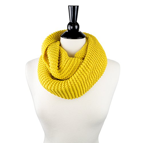 Pop Fashion Womens Chic Thick Chunky Warm Knit Infinity Neck Scarf