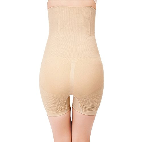Pop Fashion Womens Shapewear Bodysuit High Waist Tummy Control with Butt Compression Shorts - Pop Fashion