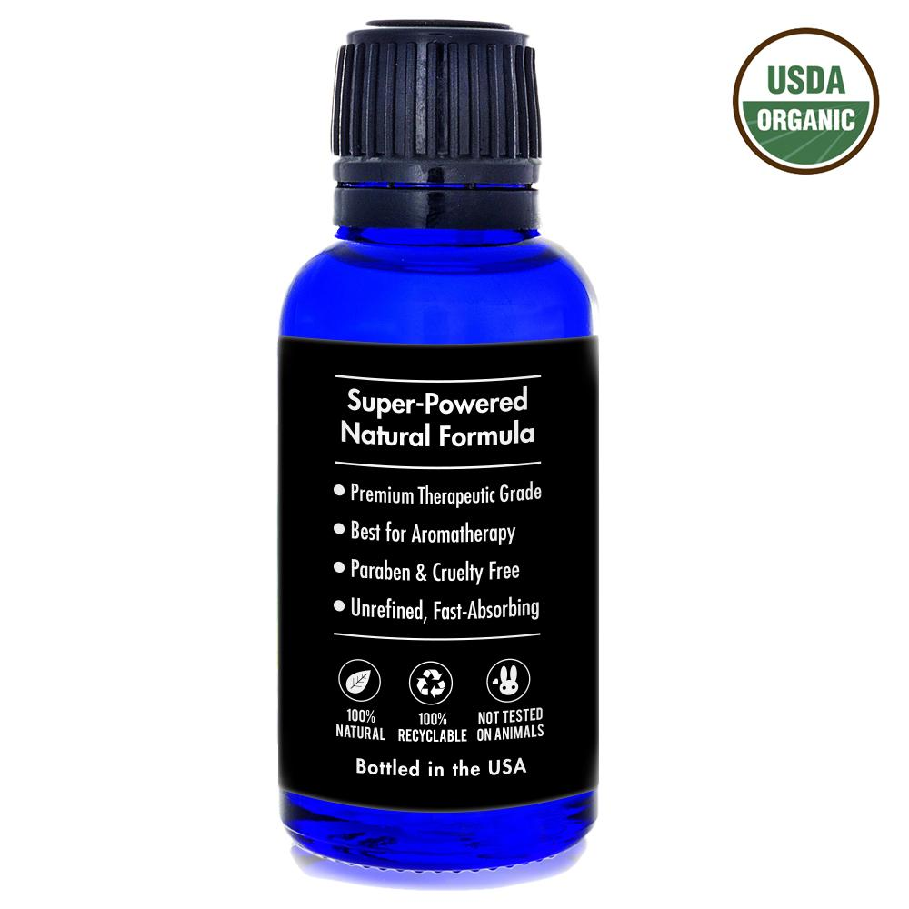 Eucalyptus Essential Oil, 1 Oz, USDA Organic, 100% Pure & Natural Therapeutic Grade - Aweganics - Pop Fashion