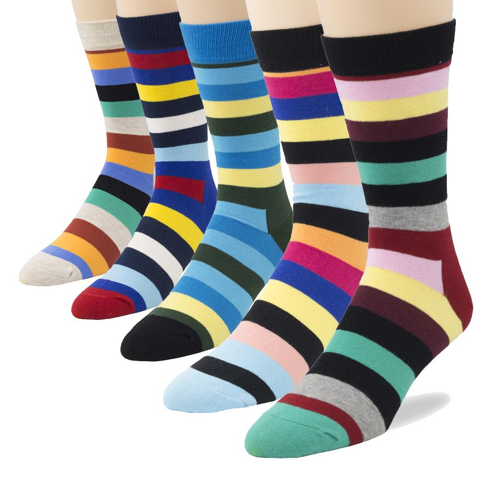 Men's Cotton Crew Socks - Package Deals - Pop Fashion