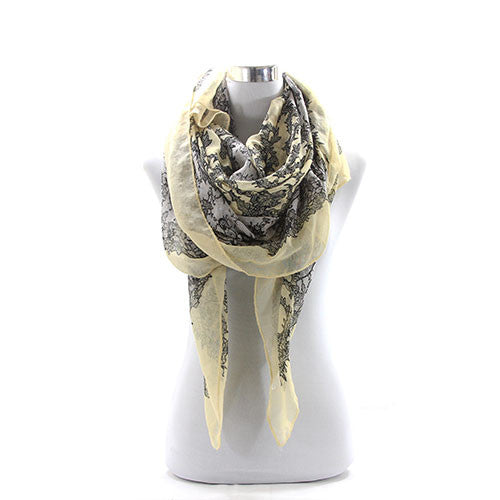 Floral Scarf - Pop Fashion