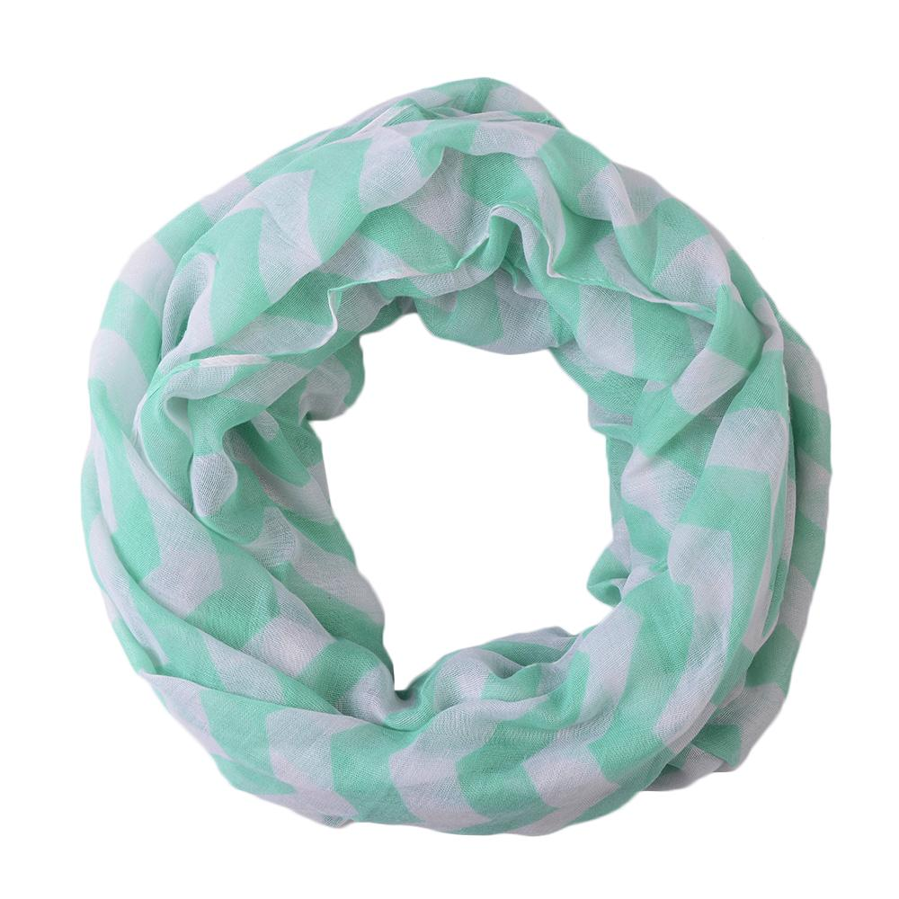 Pop Fashion Women's Infinity Scarf, Chevron Scarf Design, Infinity Scarves - Pop Fashion