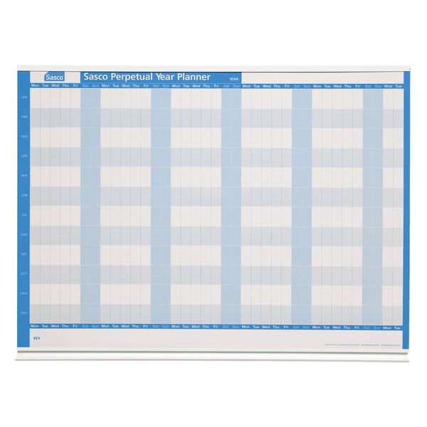 Sasco Perpetual Magnetic Year Wall Planner