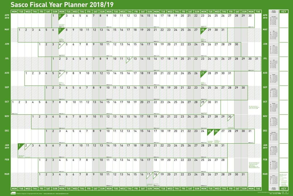 Split year calendar 2017/18 (July to June) - PDF templates