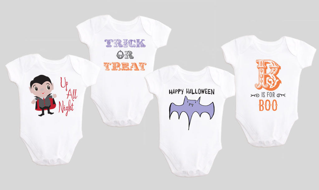 FLASH SALE - Halloween Baby Bodysuits