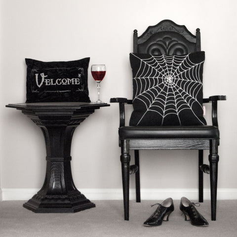 Creepy Chic Halloween Decor by BubbleGumDish