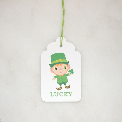 Lucky Leprechaun St. Patrick's Day Gift Tags