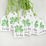 St Patricks Day Gift Tags - Lucky Shamrock