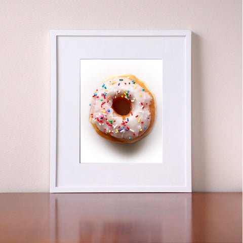 Kitchen Wall Art - Donut Pictures - Giclee Art Print