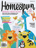 Homespun Magazine February 2017