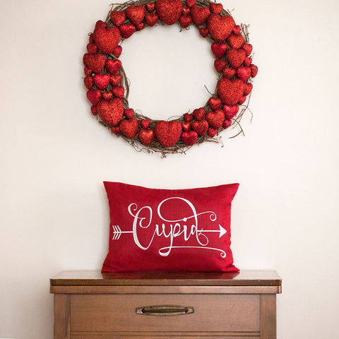 Cupid Valentine Pillow