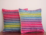 Rainbow Pillow by BubbleGumDish.com