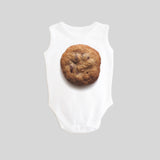 Cookie Sleeveless Tank Baby Bodysuit by BubbleGumDish