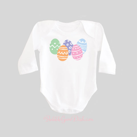 Easter Egg Baby Bodysuit