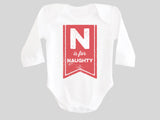 N is for Naughty Baby Bodysuit