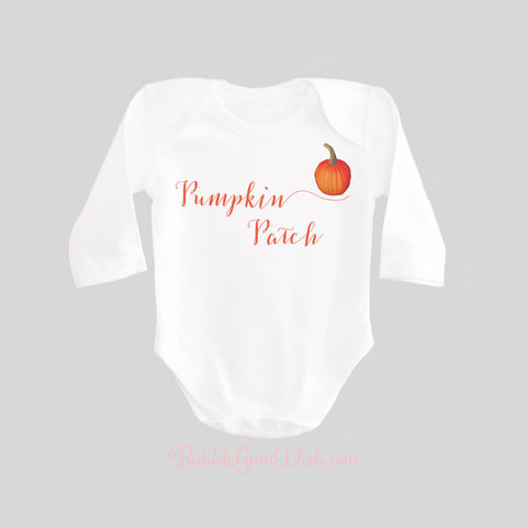 Pumpkin Patch Baby Shirt