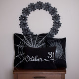 October 31 Halloween Pillow