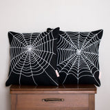 Spider Web Pillow Cover - Halloween Pillow Covers