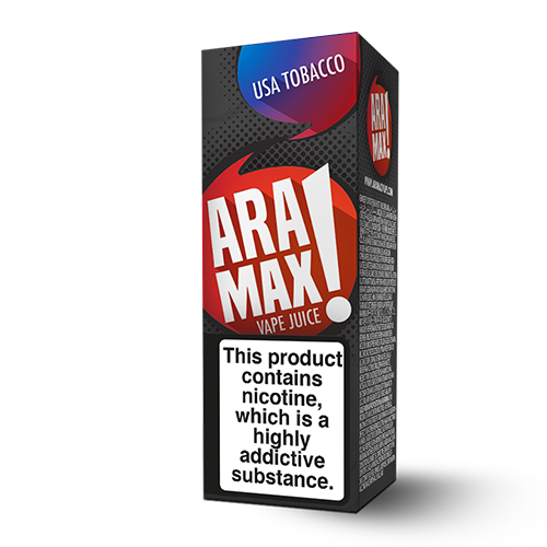 Aramax Liquids - USA Tobacco (10ml) Cheap Quality Eliquid, Vape Juice. Zapp Vape Cardiff UK. Zapp Ecigs Cardiff UK. 5 for £9.99