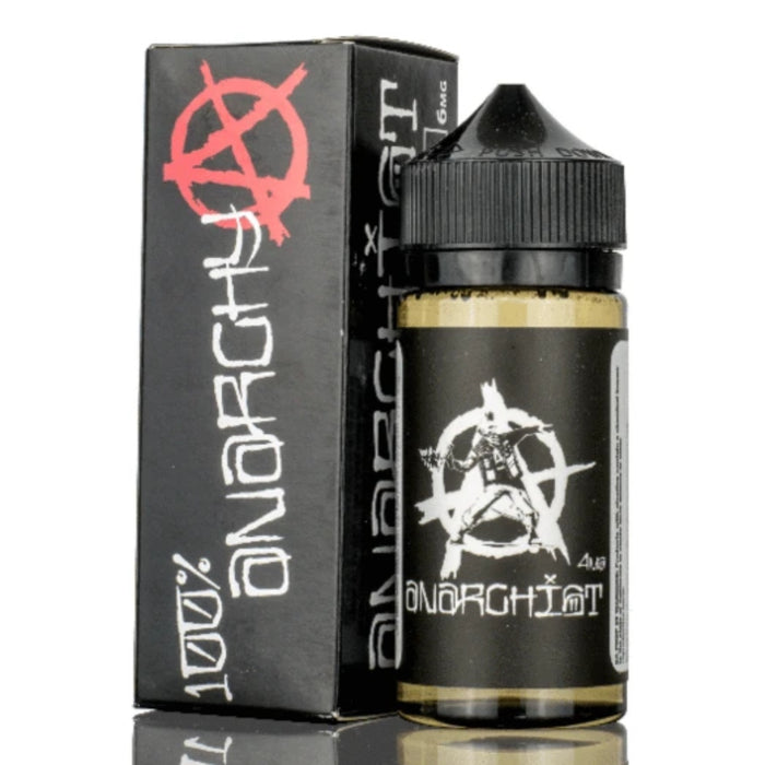 Anarchist Black 100ml 0mg Short Fill (Nicotine not included)