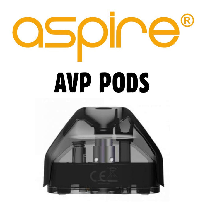 Aspire AVP Replacement Pods 2 Pack