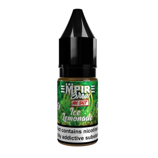 Ice Lemonade by Empire Brew Nic Salt 10ml.  3 for 12.99 - Cheap Quality Eliquid, Vape Juice. Zapp Vape Cardiff UK. Zapp Ecigs Cardiff UK.  E-cigs Cardiff. Vaping Cardiff