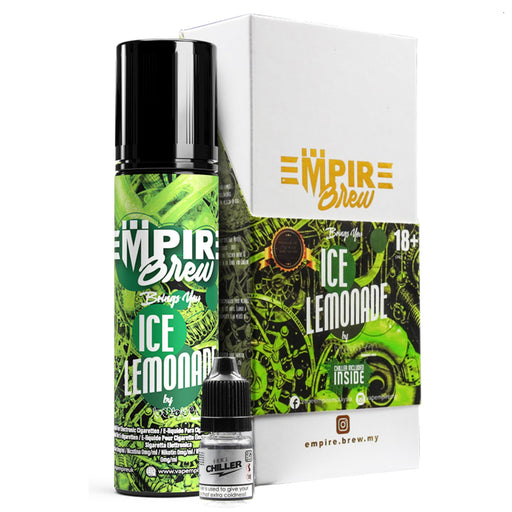 Ice Lemonade Eliquid 50ml  By Empire Brew (Nicotine not included)            - Cheap Quality Eliquid, Vape Juice. Zapp Vape Cardiff UK. Zapp Ecigs Cardiff UK.  E-cigs Cardiff. Vaping Cardiff