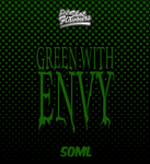 Green With Envy  - By Chefs Vapour 50ml (0mg Pot Shot Flavour)