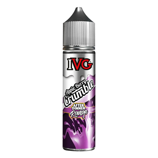Apple Berry Crumble Eliquid Cardiff (By IVG 50ml - Nicotine not included) Cheap Quality Eliquid, Vape Juice. Zapp Vape Cardiff UK. Zapp Ecigs Cardiff UK.  E-cigs Cardiff