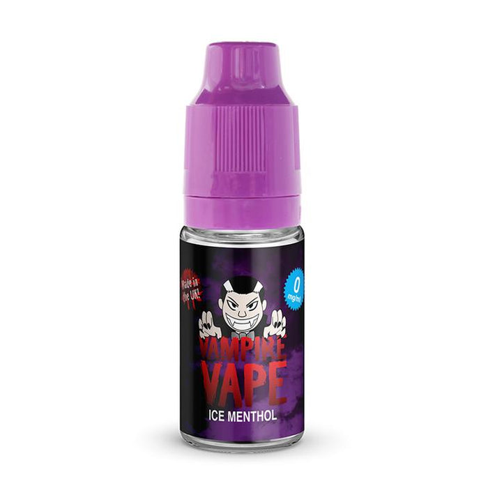 Ice Menthol 10ml By Vampire Vape. Any 5 for £14.99