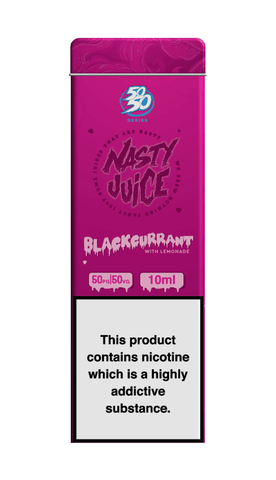 Blackcurrant Lemonade By Nasty Juice (50/50) 10ml