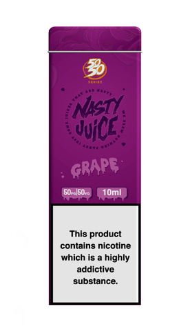 Grape By Nasty Juice (50/50) 10ml