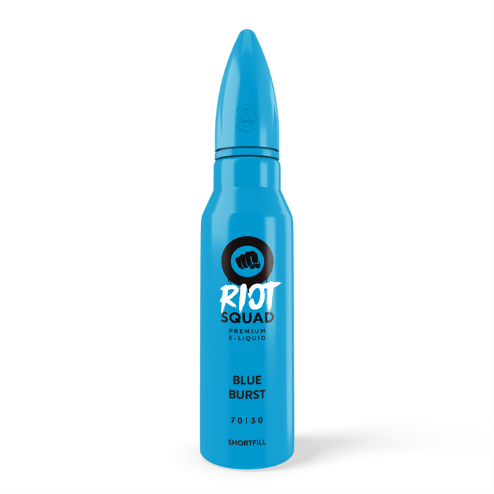 Blue Burst Eliquid 50ml By Riot Squad (Nicotine not included)  - Cheap Quality Eliquid, Vape Juice. Zapp Vape Cardiff UK. Zapp Ecigs Cardiff UK.  E-cigs Cardiff. Vaping Cardiff. Riot Squad Eliquid Blue Burst Cardiff
