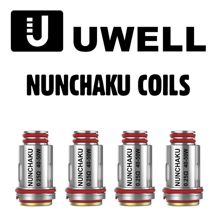 Uwell Nunchaku Replacement Vape Coils  (0.25ohm)