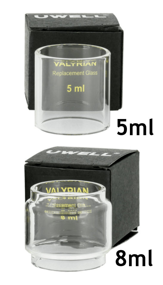 Uwell Valyrian - Replacement Glass 5ml & 8ml Bubble Glass