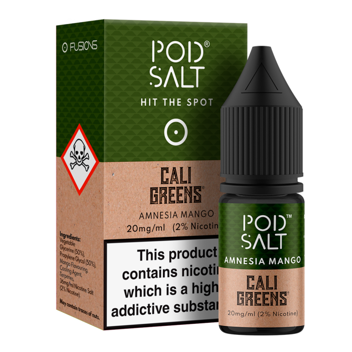 Amnesia Mango Pod Salt 10ml Nic Salt. 3 for £12.99 - Cheap Quality Eliquid, Vape Juice. Zapp Vape Cardiff UK. Zapp Ecigs Cardiff UK.  E-cigs Cardiff. Vaping Cardiff