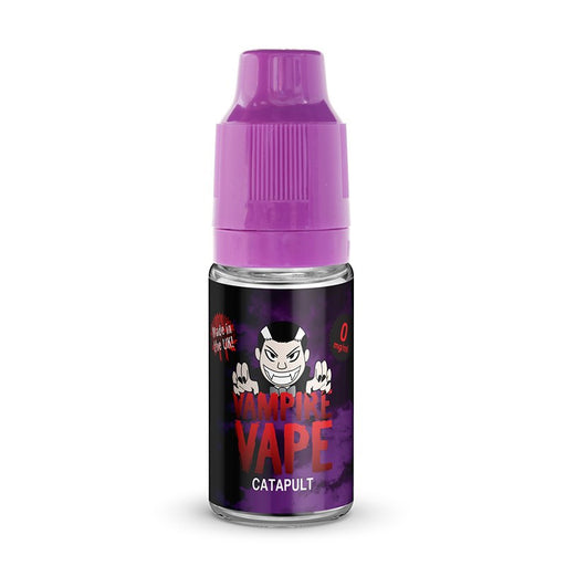 Catapult Eliquid 10ml by Vampire Vape.  5 for £14.99 - Cheap Quality Eliquid, Vape Juice. Zapp Vape Cardiff UK. Zapp Ecigs Cardiff UK.  E-cigs Cardiff.