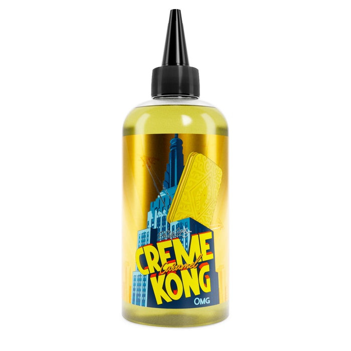 CARAMEL Creme Kong By Joes Juice - 200ml Shortfill. (Nicotine not included)