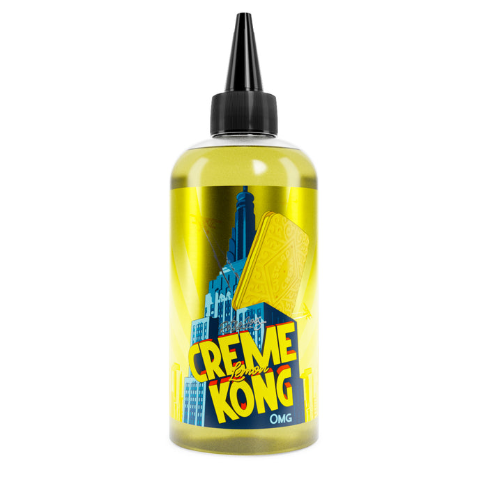 LEMON Creme Kong By Joes Juice - 200ml Shortfill. (Nicotine not included)